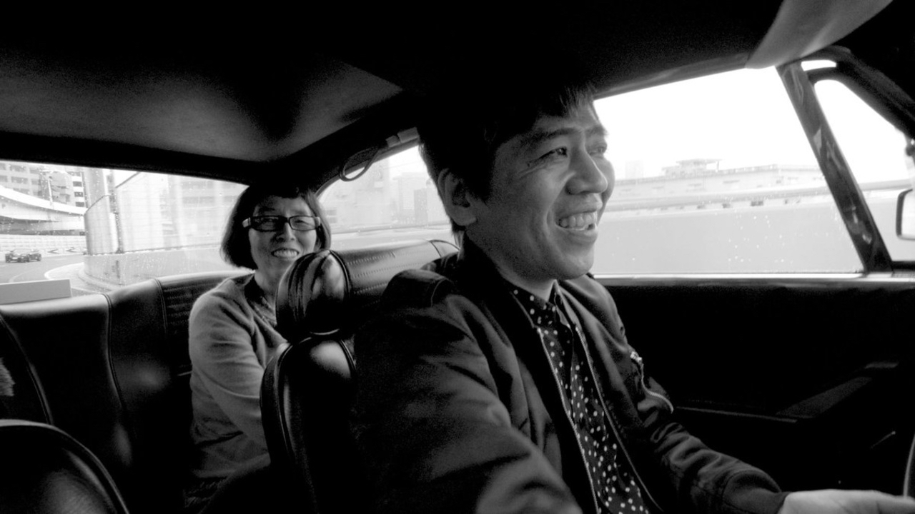 This is a film still from TOKYO RIDE at Barbican today (22 SEP 2021).