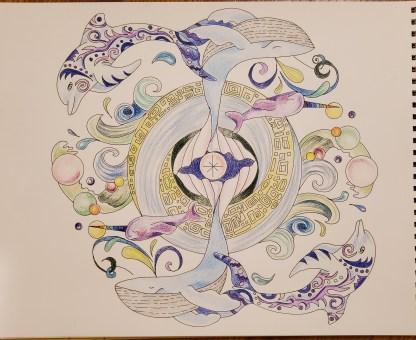 Healing Activation Mandala