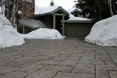 snow melt driveway pavers utah