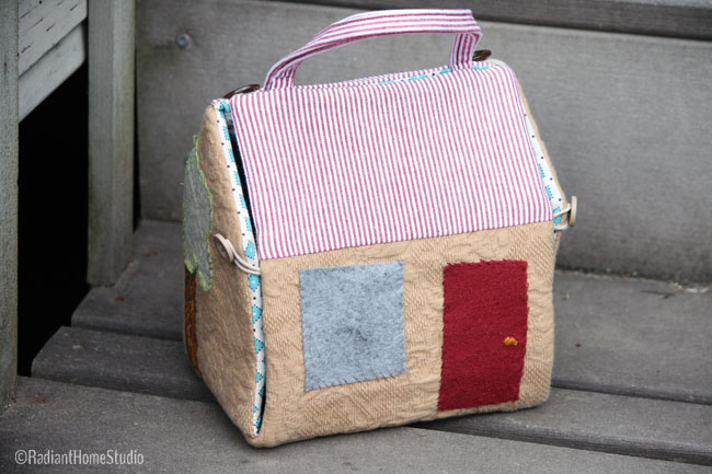 Fabric Doll House | Radiant Home Studio