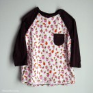 Strawberry Raglan T-Shirt | Radiant Home Studio