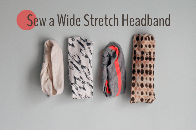 Sew a Wide Stretch Headband | Radiant Home Studio