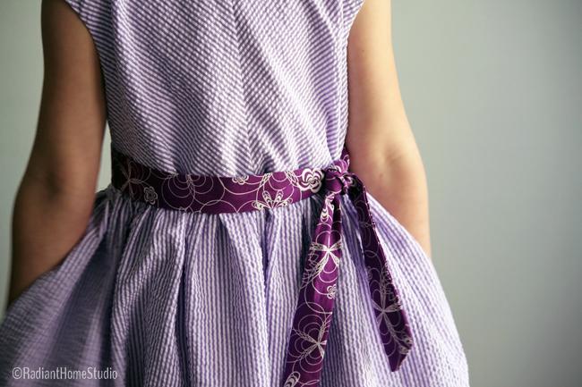 Caroline Party Dress front | Pattern Parcel 2 | Radiant Home Studio
