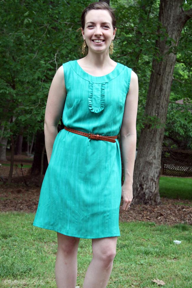 Emerald Green Market Dress | Radiant Home Studio