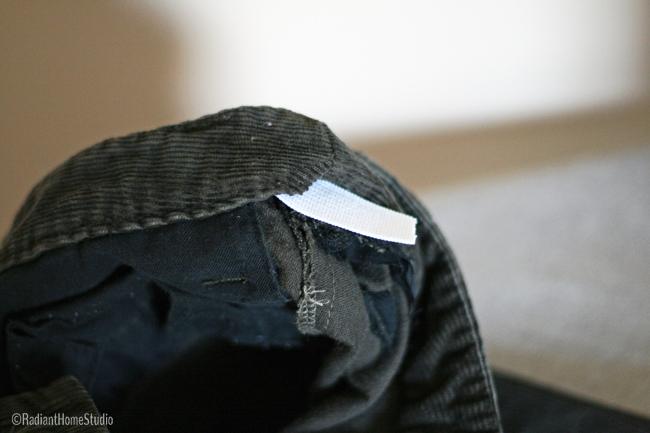 Sew Elastic in Skirt Waist | Radiant Home Studio