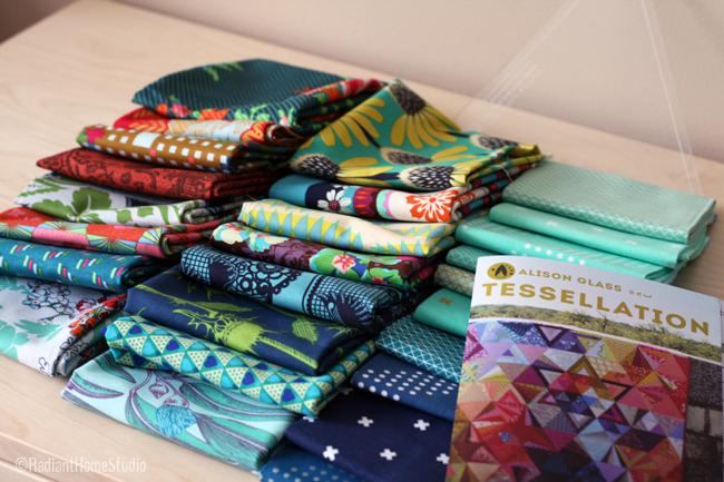 Tessellation Quilt | Anna Maria Horner with Cotton & Steel | Radiant Home Studio