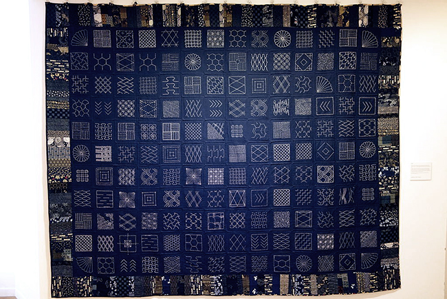 Sashiko Embroidery Tutorials Quilt Patterns |Courtesy of Wikimedia | Radiant Home Studio