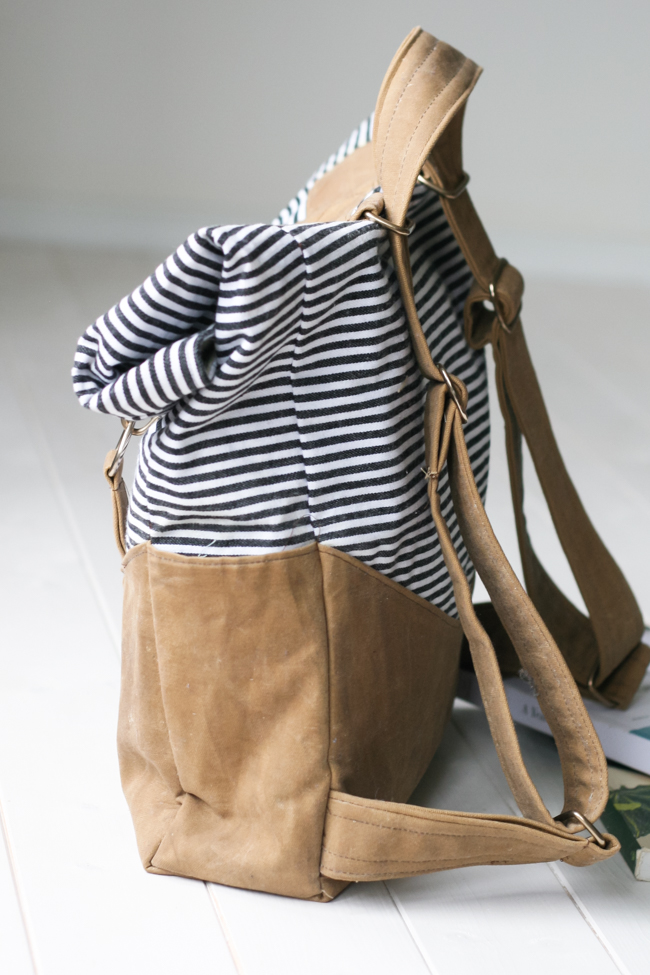 Retro Rucksack Sewing Pattern | Radiant Home Studio