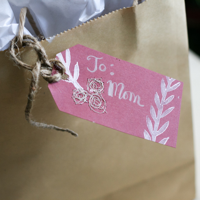 Printed & Stitched Handmade Gift Bag | Radiant Home Studio