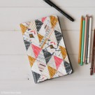 Quilted Sketchbook Cover Tutorial | Radiant Home Studio