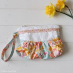 Ribbon Zipper Pouch | Bridesmaid Gift Idea |Radiant Home Studio