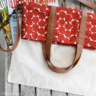 Fold Over Tote Bag Upgrade | Radiant Home Studio