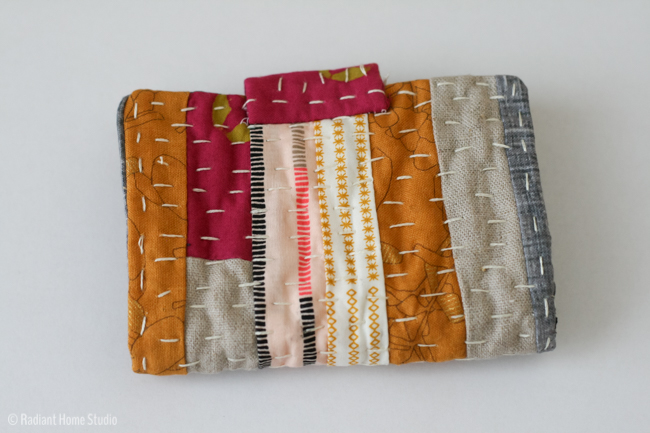 Kantha Needle Book Tutorial | Radiant Home Studio
