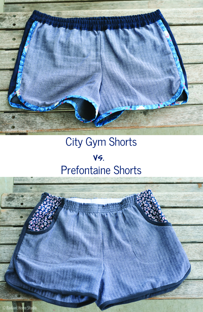 City Gym Shorts vs. Prefontaine Shorts | Radiant Home Studio