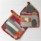 Patchwork Potholder | Radiant Home Studio