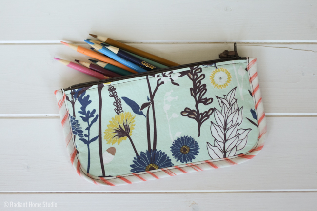 Cultivate Handmade Style Pencil Case | Radiant Home Studio