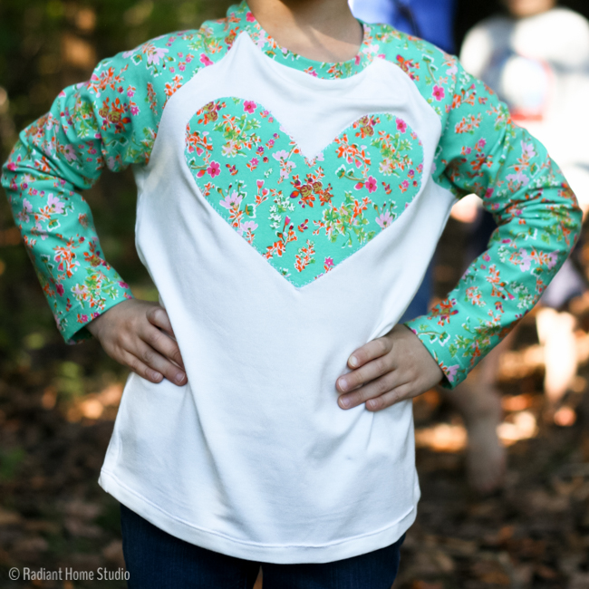 Heart Field Trip Raglan Shirt   Radiant Home Studio