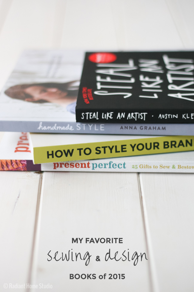 Best Sewing and Design Books I Read in 2015 | Radiant Home Studio