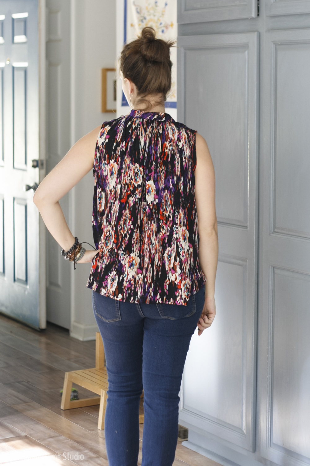 Black Matcha Top | Sew Liberated | Radiant Home Studio