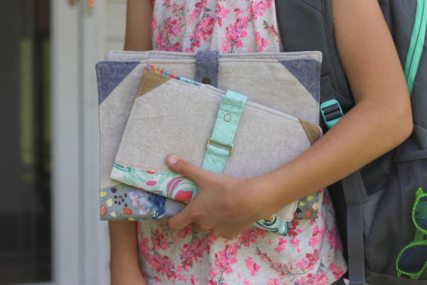 North Pond Notebook Cover | Bak-to-school handmade gift | Sewing Pattern | Radiant Home Studio