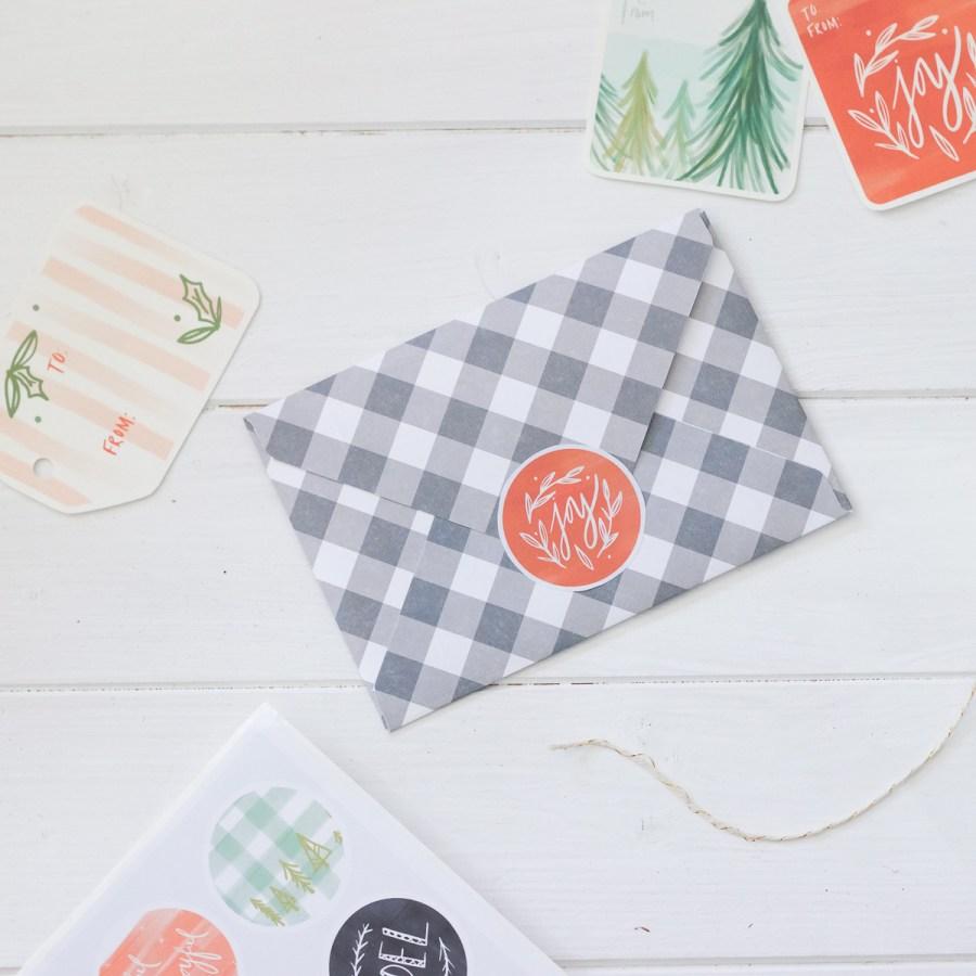 Fresh Vintage Printable Christmas Gift Tags, Stickers, & Art Prints   Radiant Home Studio