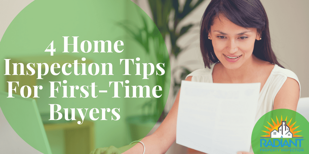 4 Home Inspection Tips For First-Time Buyers