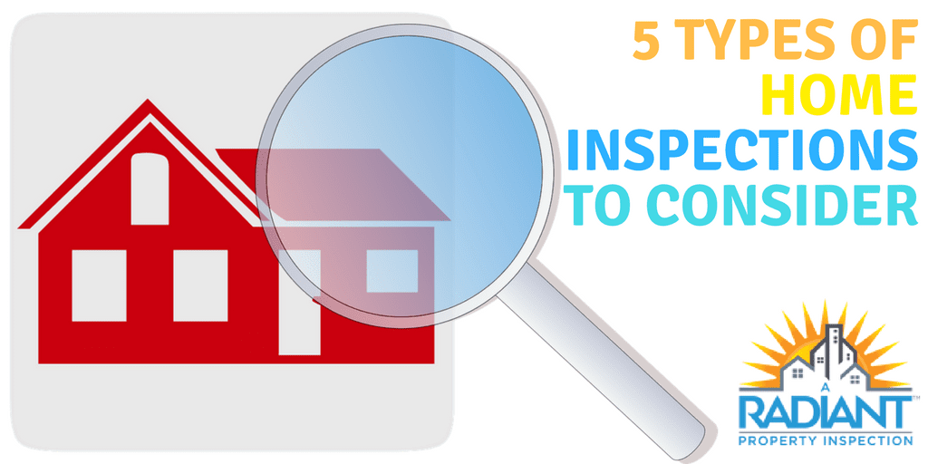 5 Types of Home Inspections To Consider