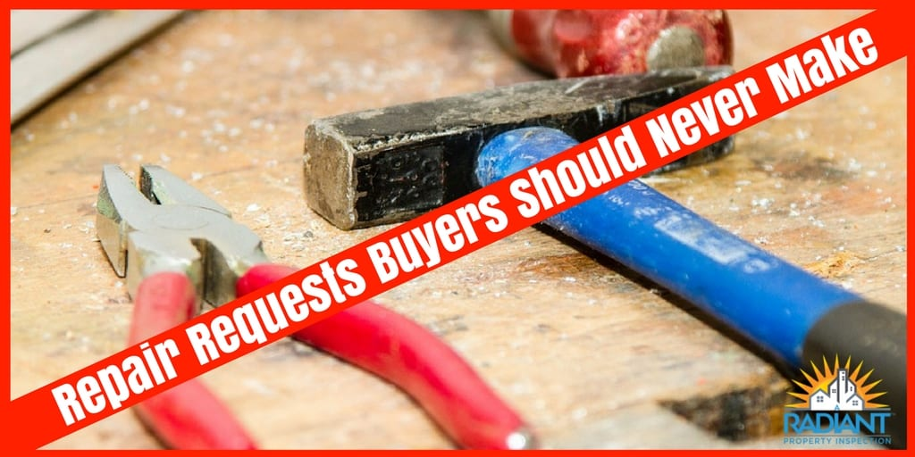Repair Requests Buyers Should Never Make