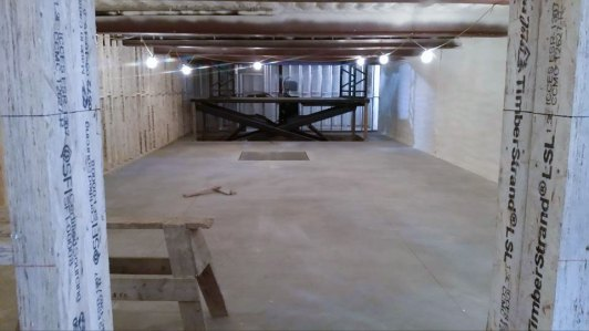 basement spray foam insulation - 1