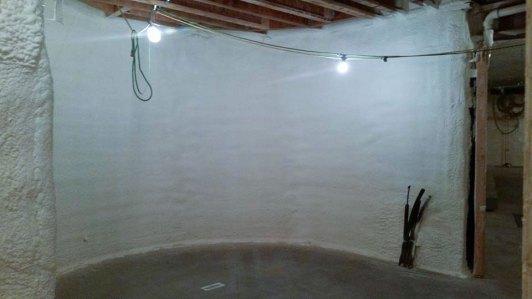 basement spray foam insulation - 3