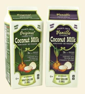 trader joe's coconut milk