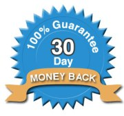30 Day money back guarantee from Radiant Shenti