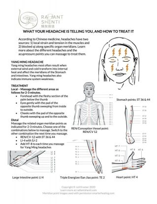 How to stop a headache free printable guide