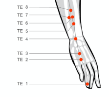 Stop headache pain on your temples by massaging acupressure points san jiao triple energizer 2