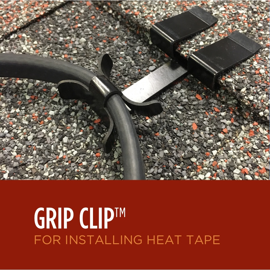 hight resolution of grip clips for ice dam heat tape