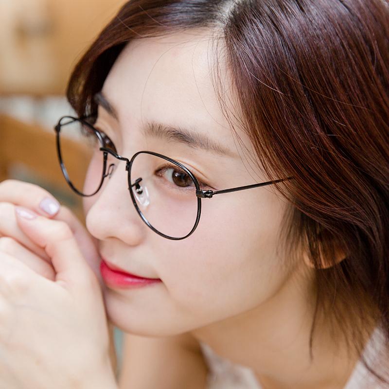 韓國新穎美學復古俏皮細框平光眼鏡【G3447】-Radiant star‧璀璨之星-流行手錶飾品領導品牌