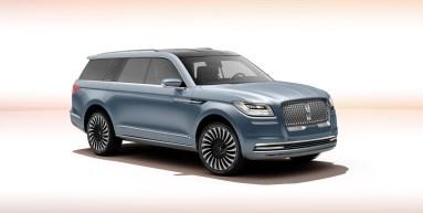 Lincoln Navigator Concept front studio