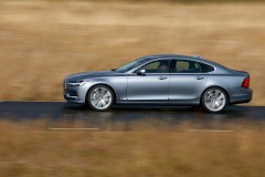 Location Profile Left Volvo S90 Mussel Blue