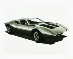 1970_AMC_AMX_3_Vignale_Concept_Car_Design_Sketch