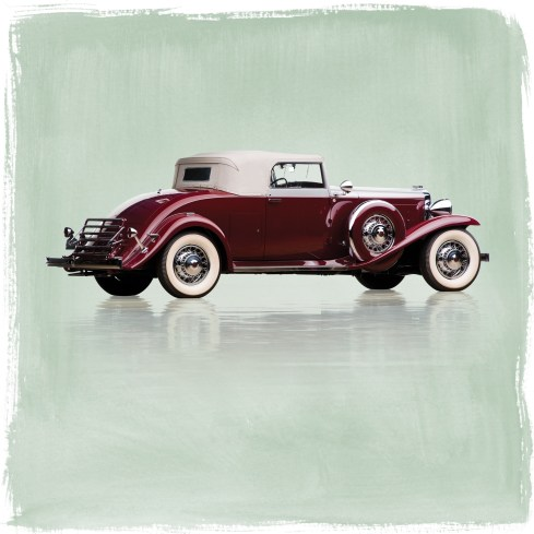 @1931 Marmon Sixteen Convertible Coupe by LeBaron - 15