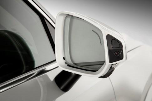 Camera on Volvo's XC90 Drive Me car
