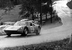 Michel Weber competing at the Gaisberg Hillclimb on 19th September 1965