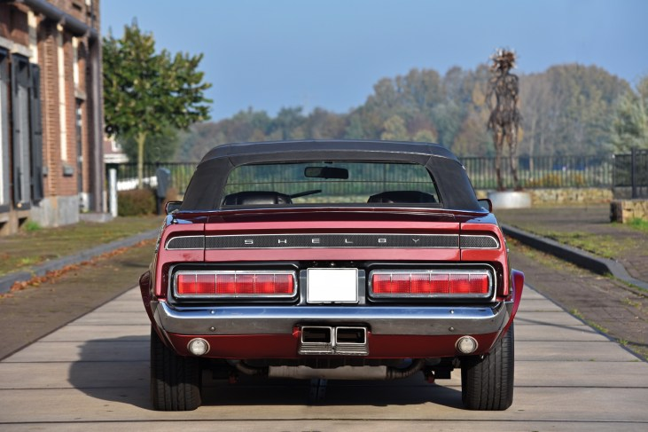 @1969 Shelby GT500 Convertible - 1