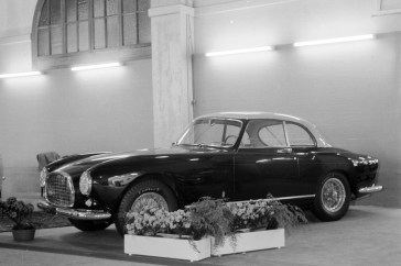 Chassis no 0263 EU as seen at the 1953 Geneva Motor Show.