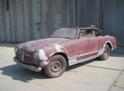 1950 Alfa Romeo 1900 Cabriolet 1