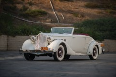 @1936 Packard Super Eight Coupe Roadster - 3