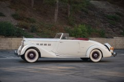 @1936 Packard Super Eight Coupe Roadster - 5