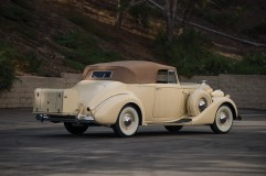 @1937 Packard Super Eight Convertible Victoria - 8