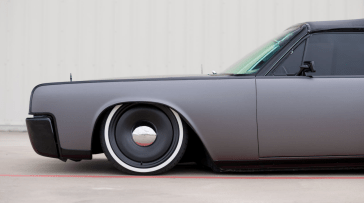 1964 LINCOLN CONTINENTAL CONVERTIBLE 9