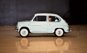 1963 FIAT 750 ABARTH BERLINA 2